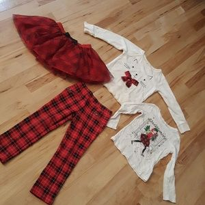 BUFFALO PLAID 4 PC OUTFIT